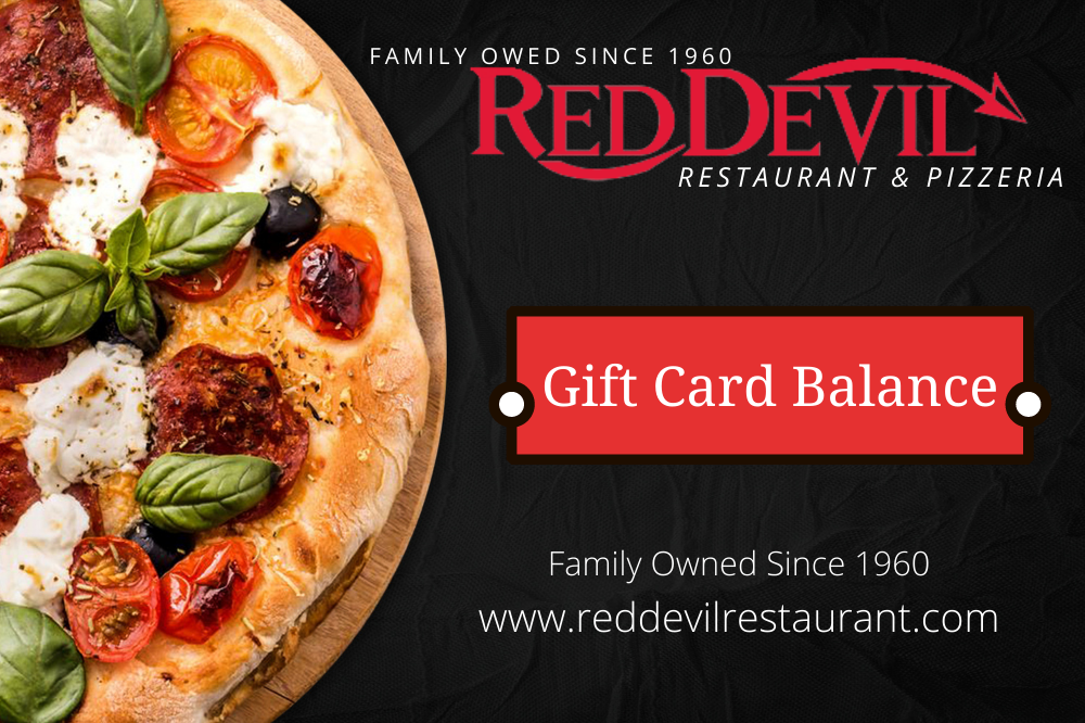 Red Devil Restaurant Gift Card