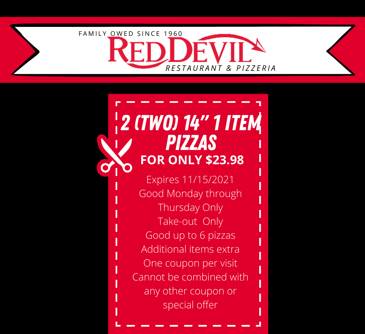 Red Devil Coupon